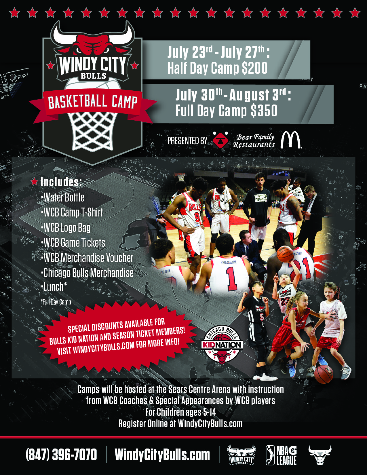 Windy City Bulls Summer Camp